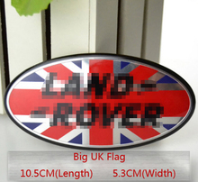 FREE SHIPMENT High quality All Black frame Front Grille logo sticker for Land Rover all types.