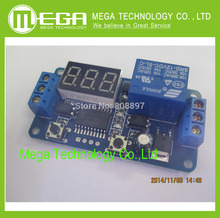!!!!! Free Shipping 2 PCS 12V Home Automation Delay Timer Control Switch Module Digital display LED   Integrated Circuits