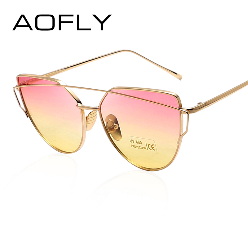 AOFLY Trendy Fashion Sunglasses Luxury Ladies Butterfly Designer Exclusive Brand Embellishment Sunglasses Women Glasses Female<br><br>Aliexpress