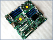X8DA3 dual 1366-pin server workstation motherboard with a sound card can be accessed alone