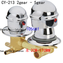 Shower faucet Mixing Valve for Bidet Solar heater Shower Mixer Diverter(China)