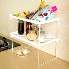 Foldable Storage Shelf Rack Home Kitchen Bathroom Holder Organizer Desk Book Shelves Debris sort out Storage Support Racks(China)