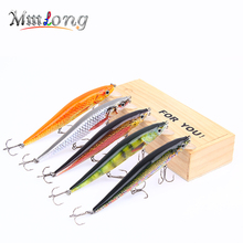 Mmlong 12cm Realistic Minnow Fishing Lure Hotsale Fishing Bait 14.6g Unique Crankbait 5 Color Wobbler Fish Tackle Pesca MH09C(China)