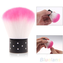 New Colorful Nail brush tools  For Acrylic & UV Gel Nail Art Dust Cleaner 1EKU