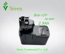 New Spare NI-MH 2500mAh Rechargeable Power Tool Battery Replacement for Bosch 12V BAT011 BH1214 2 607 335 054 2 607 335 376(China)