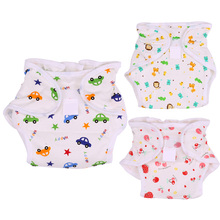 1 Pc New Printed Baby Breathable Cotton Diapers Infant Cloth Diaper Baby Pants Nappy Changing Cover Wrap