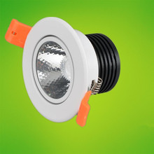 New products listed Recessed LED Downlight COB 7W/10W/12W LED Spot light LED Ceiling Lamp AC85V- 265V Free shipping