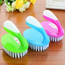 1PC Household Shoe Brush Hard Cleaning Dusting Floor Scrub Brush Tools Multipurpose Long Handled Crevice Cleaner Cleaning Tool(China)
