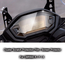 100% Brand New Motorcycle Accessories for Honda CBR500 R/F/X CBR500R CBR500F Cluster Scratch Protection Film Screen Protector