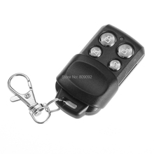 Metal Mini Telecomando 433MHZ RF Alarm Garage Door Remote Control Duplicator Clone Rolling Code Scanner Transmitter(China)