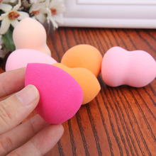 6Pcs Makeup Foundation Sponge Blender Blending Puff Soft Flawless Powder Puffs Cosmetic Tool Waterdrop Gourd Shape