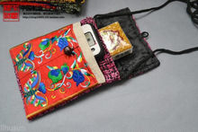 Wholesale10PCS HANDMADE Ethnic retro FLAX EMBROIDER PHONE POUCHE Cell Phone Case