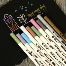 10 Pcs/lot finecolour copic sketch markers touch permanent marker Pen For Photo Album Scrabooking Decor High lighter plumones(China)