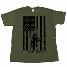 Eternal Soldier Special Operations Forces Navy Seals Green Berets Marines Army Air Force Defender T Shirt US plus size S-3XL