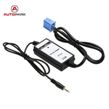 Car 3.5mm Aux in interface Car Audio Radio MP3 Player 3.5mm AUX In Adapter Cable for Honda for Accura for Accord for Civic