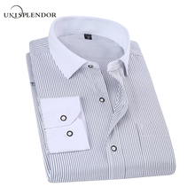 Buy 2017 Spring Classic Striped Men Business Shirt Slim Fit Formal Mens Dress Shirts Long Sleeve Overalls Vocational Shirt YN10012 for $11.01 in AliExpress store