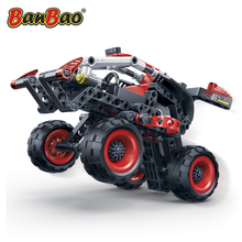 Model Building Kits for kids BANBAO car 6956