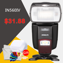 Universal Wireless Flash Speedlite INSEESI IN560IV For Canon Nikon Pentax Panasonic Olympus Sony VS Viltrox JY-680A Camera Flash