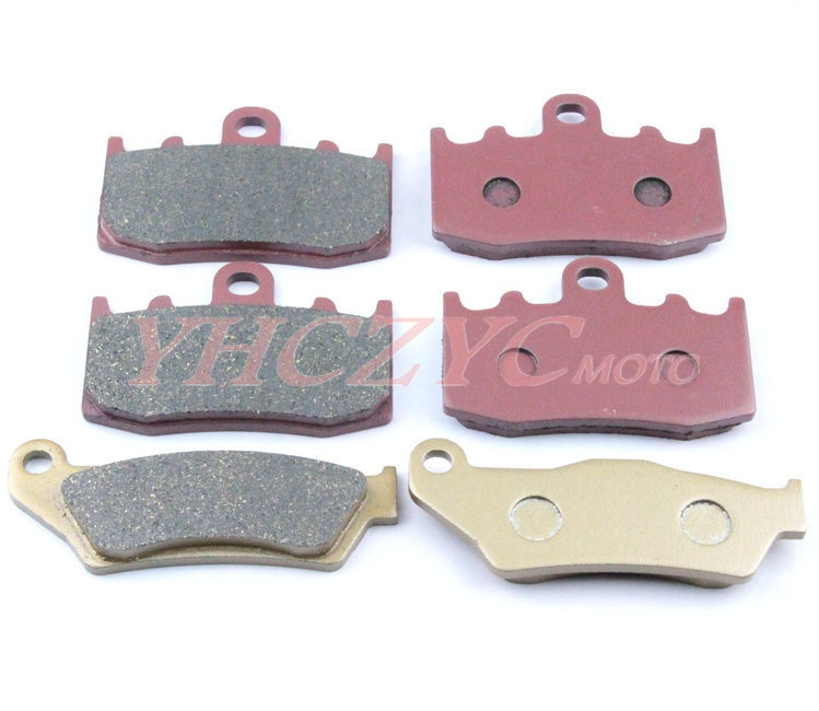 For BMW K1200S(K40) 05-08 K1300GT 2009 K1300S 2009 motorcycle front and rear brake pads set Motorcycle Parts<br>
