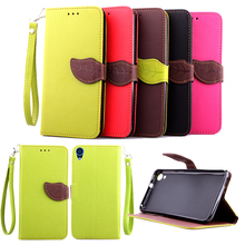 Leaf Case for HTC Desire 820G 820X 820n A51 Flip Case Wallet Phone Leather Cover for HTC Desire820G Plus 820 G 820gPlus 820G+(China)