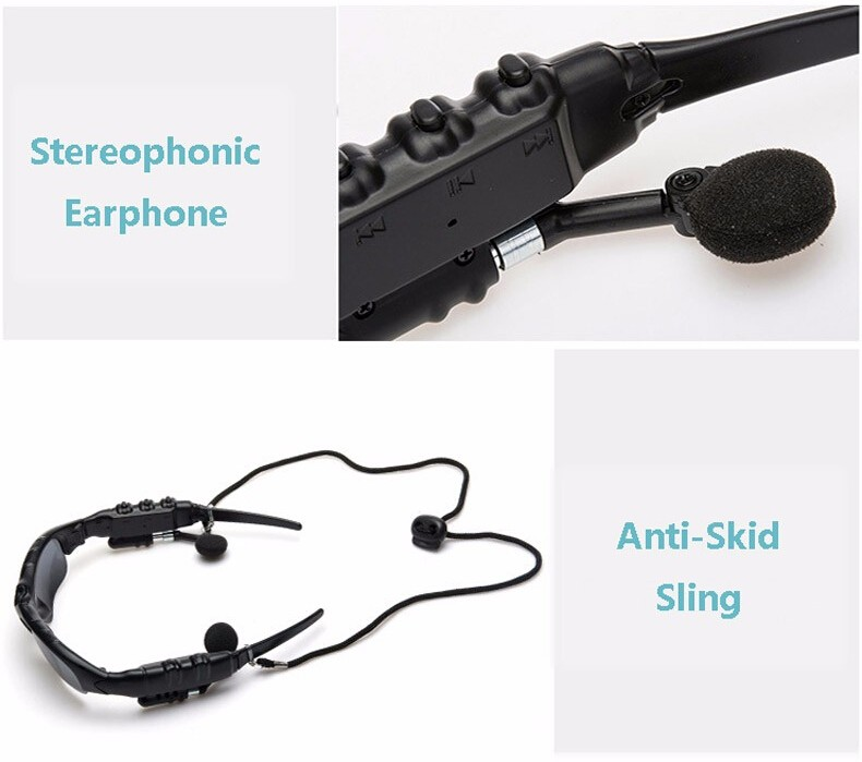 WEST BIKING Wireless Bluetooth Glasses Driving Riding Sun Glasses Headset Earphone For Cell Phone Cycling Glasses Bluetooth