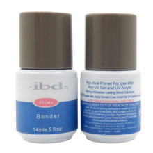 IBD Bonder UV Nail Non acid Primer 0.5oz 14ML salon for UV Gel Acrylic lasting bond odorless Binders Base Coat free shipping