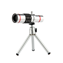Buy 18x Zoom Optical Telescope Telephoto Lens W/ Tripod Clip Kit Universal Phone Camera Lenses iPhone 6 6s 7 8 Plus Mobile Phone for $21.86 in AliExpress store