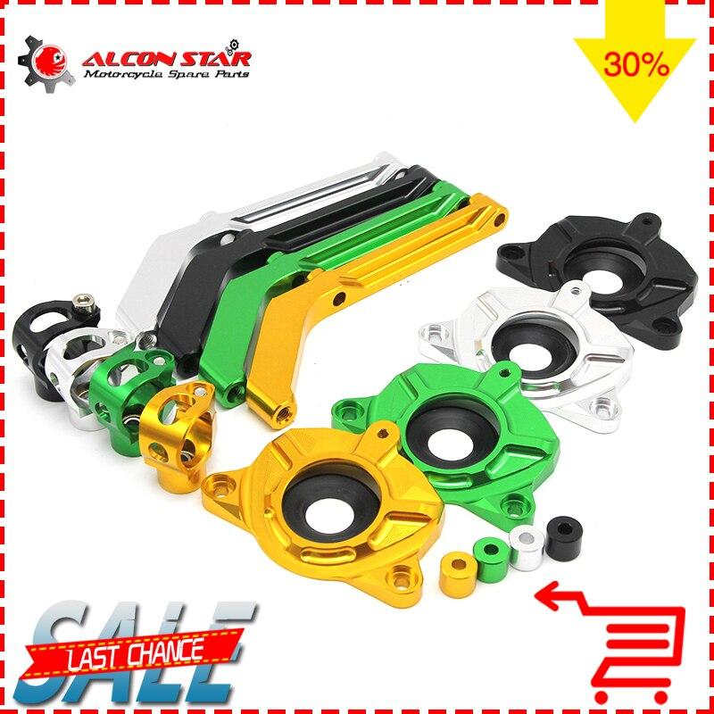 Alconstar- Z1000 Adjustable Motorcycle Steering Stabilize Damper Bracket Mount Kit For Kawasaki Z1000 2010-2013 Steering Support<br>
