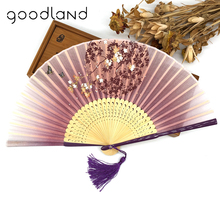 Free Shipping Wholesale 100pcs Black Bamboo Trim Folding Hollow Carved Hand Fan Home Decoration Accessories Home Decor(China)