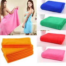 New Superfine Microfiber Bath Towels Convenient Soft Body Bath Towel Portable Bath Travel Big Towels For Adults Shower Tools
