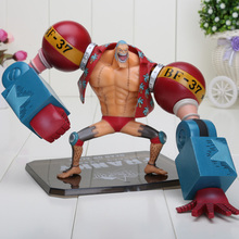 7inch One Piece Toy Doll Franky New World After 2 Years Franky PVC Action Figure with box