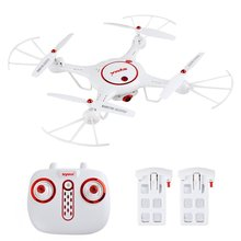 Syma X5UC Mini RC Drone with 720P HD Camera, Barometer Set Height, H/L Speed+ 2pcs Extra Battery RTF RC Quadcopter(China)