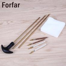 Fofar Hunting Barrel Cleaning Kit 177&.22 4.5mm&5.5mm Rifles/Pistols Rod gun Cleaner Clean Brush Wire bristle Outdoor Tool