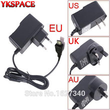 YKSPACE 5V 2A US UK EU AU Plug Micro USB Charger Power Supply Adapter with 1M Cable for Android phone Samsung lg htc Tablet PC(China)