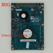 Used Internal hard drive 80GB 2.5' inch hard disk IDE HDD 8MB For Laptop Notebook