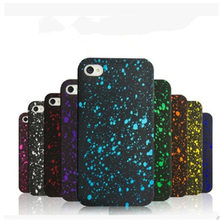 3D Cover Three-dimensional Stars Ultra thin Frosted Starry Sky Phone Case for iPhone 5s 5  6 6s 6Plus 7 7 plus