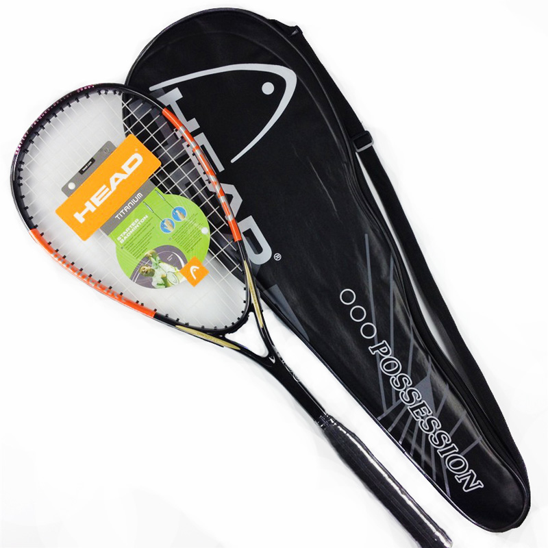 High Quality Durable New Composite Carbon Fiber Unisex Squash Racket For Women&Men Indoor&Outdoor Sport Training With Squash Bag(China)