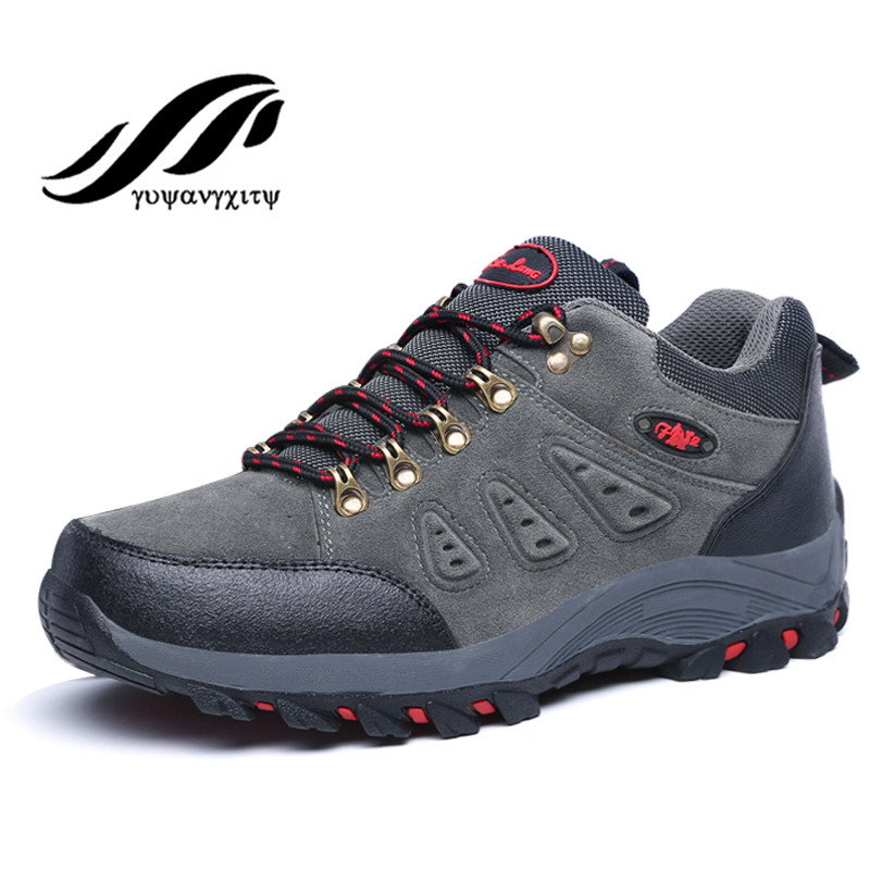2017 new arrival hiking shoes windproof waterproof limbing skidproof breathable sport shoes outdoor men shoes<br><br>Aliexpress