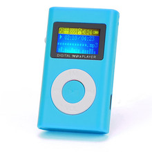 USB Mini Clip MP3 Player LCD Screen Support 32GB Micro SD TF Card Slick Stylish Design in a Compact Case with Clip Wholesale
