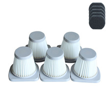 High Quality 5pcs Hepa Filter & 5pcs cotton For Media SC861 SC861A Free Post