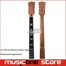 22 Fret LP Guitar Neck Mahogany Rosewood fingerboard sector and binding Inlay for LP Electric Guitar neck replacement(China)