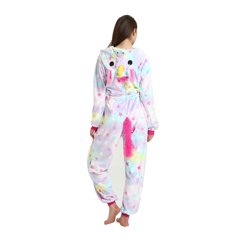 Adult-women-cartoon-animal-sleepwear-animal-unicorn-pajamas-Cute-women-hooded-long-sleeve-star-unicornio-pajamas (2)