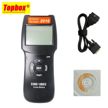 2016 Version D900 EOBD OBDII Scanner Car Engine Code Reader D900 Diagnostic Tool For Multi Brand Cars