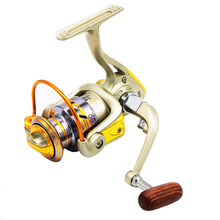 High Quality EF1000-7000 10BB 5.2:1 Metal Spinning Fishing Reels Fly Wheel For Fresh/ Salt Water Fishing Tool Accessories