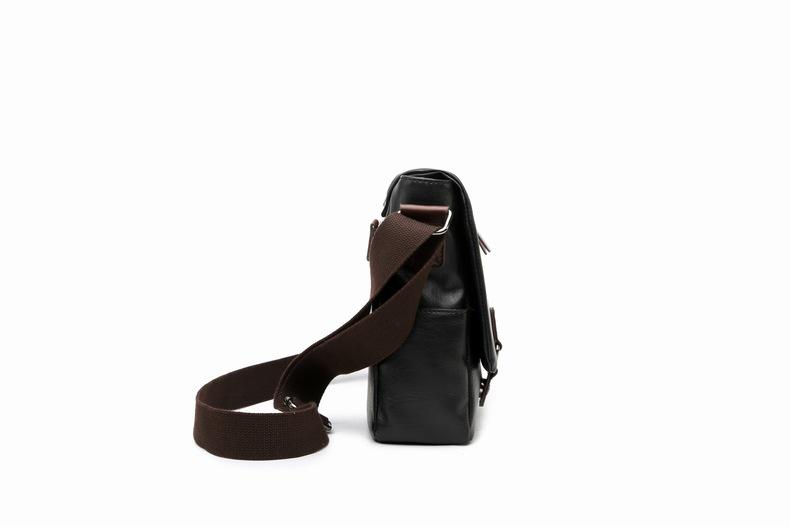 MJ Men\`s Bags Vintage PU Leather Male Messenger Bag High Quality Leather Crossbody Flap Bag Versatile Shoulder Handbag for Men (7)