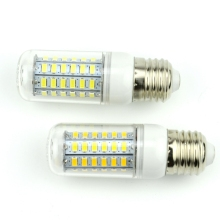 1Pc E27 E14 LED Corn Bulb 220V 110V SMD5730 LED lamp Spotlight 24LED 36LEDs 48LEDs 56LEDs 69LEDs For light(China)