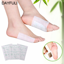 10x Good Detox Foot Pad Patch Detoxify Toxins Adhesive Keeping Fit Health Care(China)