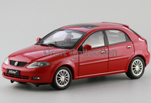 Red 1:18 Buick EXCELLE HRV Lifeback Diecast Model Car Estate Car Model Last One Piece in the World Classic Style