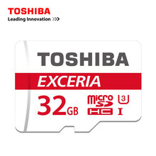 TOSHIBA micro sd card 32G Class10 90MB/S U3 Memory Card Best Choice For GoPro 4K Video Smartphone UAV Monitor high-speed TF card(China)