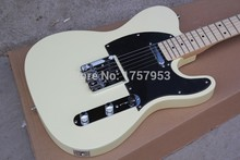Factory direct custom shop new telecaster cream color Vintage 6 Strings Electric Guitar Free Shipping(China)
